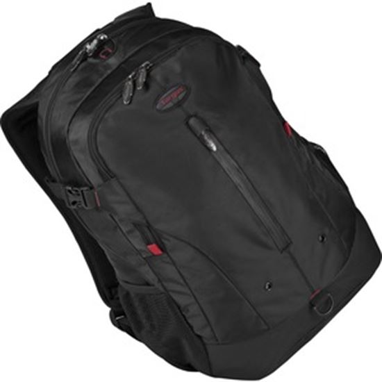 """Picture of Targus Terra TSB226LA Carrying Case (Backpack) for 16"""" Notebook - Black, Red"""