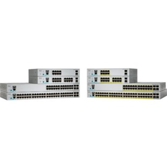 Picture of Cisco Catalyst 2960-L WS-C2960L-SM-48PQ Layer 3 Switch