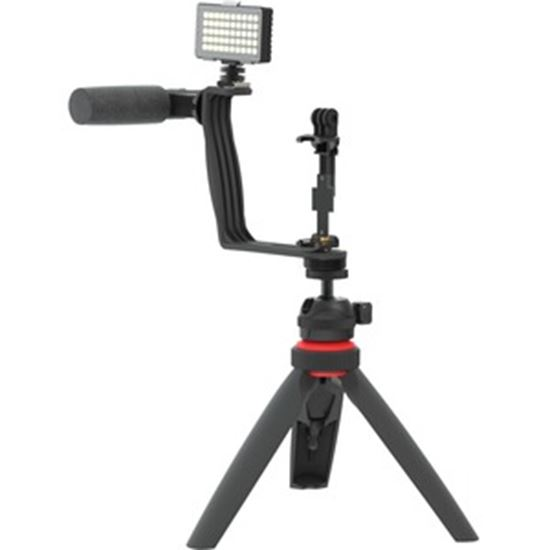 Picture of DigiPower Superstar Essential Vlogging Kit with Wireless Remote