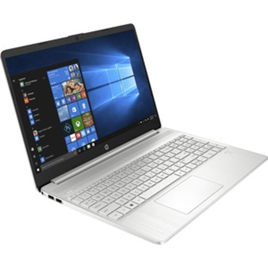 """Picture of HP 15-dy2000 15-dy2048nr 15.6"""" Notebook - HD - 1366 x 768 - Intel Core i7 (11th Gen) i7-1165G7 Quad-core (4 Core) - 8 GB RAM - 256 GB SSD - Natural Silver"""