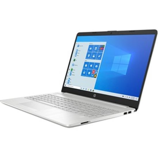 """Picture of HP 15-dw3048nr 15.6"""" Notebook - HD - 1366 x 768 - Intel Core i3 (11th Gen) i3-1115G4 Dual-core (2 Core) - 8 GB RAM - 1 TB HDD - Natural Silver"""