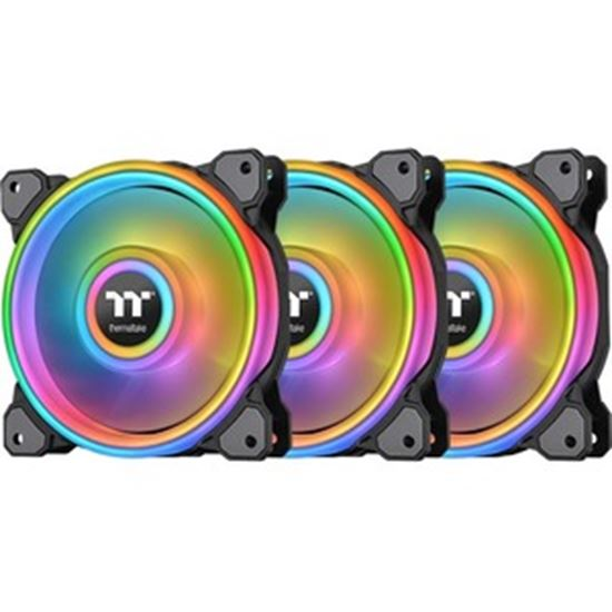 Picture of Thermaltake Riing Quad Cooling Fan - 3 Pack