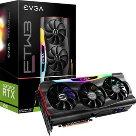 Picture of EVGA NVIDIA GeForce RTX 3090 Graphic Card - 24 GB GDDR6X