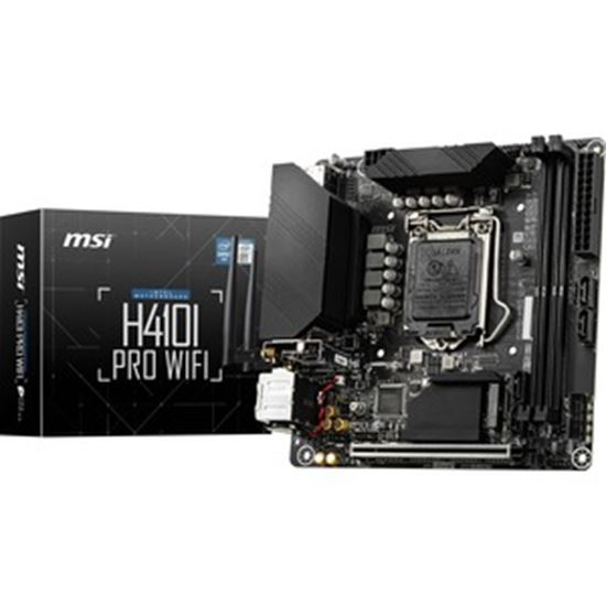 Picture of MSI H410I PRO WIFI ITX Motherboard support Intel LGA CPU