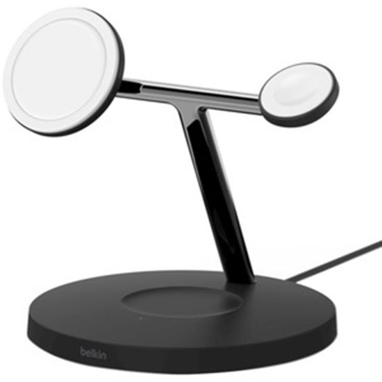 Picture of Belkin BOOST↑CHARGE Pro 3-in-1 Wireless Charger With MagSafe