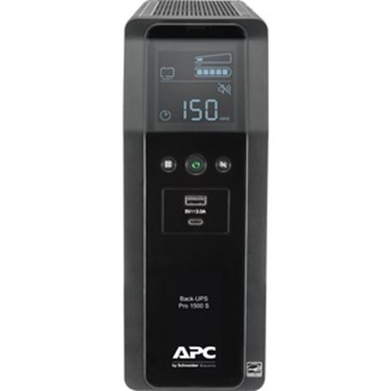 Picture of APC by Schneider Electric Back UPS PRO 1500VA Line Interactive Tower UPS