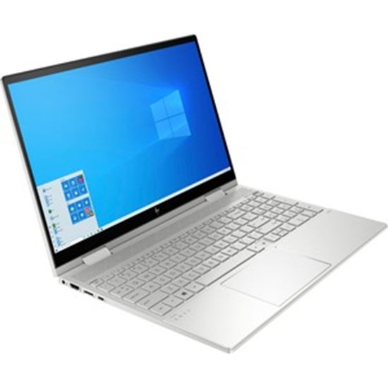 "Picture of HP ENVY x360 15-ed0000 15-ed0003ca 15.6"" Touchscreen 2 in 1 Notebook - Full HD - 1920 x 1080 - Intel Core i7 (10th Gen) i7-1065G7 Quad-core (4 Core) 1.30 GHz - 16 GB RAM - 1 TB SSD - Natural Silver Aluminum - Refurbished"