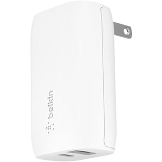 Picture of Belkin BOOST↑CHARGE 30W USB-C PD + USB-A Wall Charger