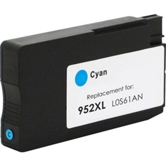 Picture of eReplacements Refurbished Ink Cartridge - Alternative for HP 952XL - Cyan
