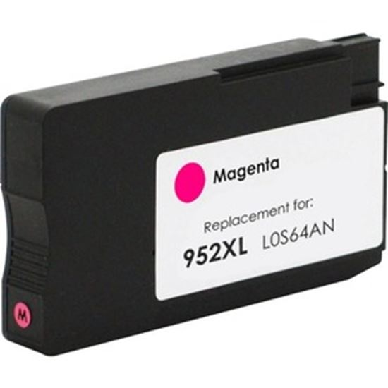 Picture of eReplacements Refurbished Ink Cartridge - Alternative for HP 952XL - Magenta