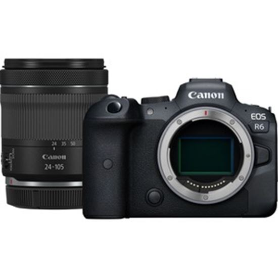 Picture of Canon EOS R6 20.1 Megapixel Mirrorless Camera with Lens - 24 mm - 105 mm