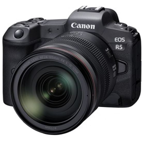 Picture of Canon EOS R5 45 Megapixel Mirrorless Camera with Lens - 24 mm - 105 mm