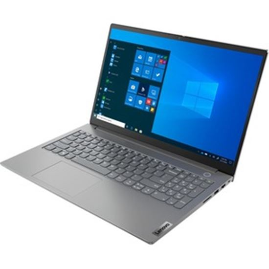 """Picture of Lenovo ThinkBook 15 G2 ARE 20VG0064US 15.6"""" Touchscreen Notebook - Full HD - 1920 x 1080 - AMD Ryzen 7 4700U Octa-core (8 Core) 2 GHz - 16 GB RAM - 512 GB SSD - Mineral Gray"""