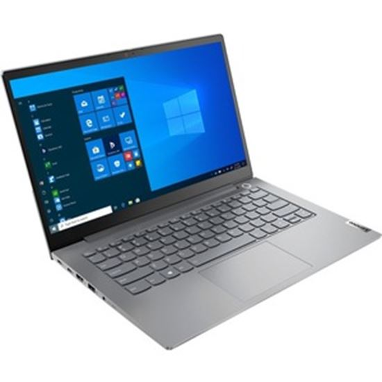 "Picture of Lenovo ThinkBook 14 G2 ARE 20VF0032US 14"" Touchscreen Notebook - Full HD - 1920 x 1080 - AMD Ryzen 7 4700U Octa-core (8 Core) 2 GHz - 16 GB RAM - 512 GB SSD - Mineral Gray"
