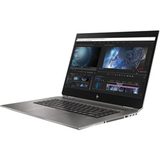 "Picture of HP ZBook Studio x360 G5 15.6"" Touchscreen 2 in 1 Mobile Workstation - 4K UHD - 3840 x 2160 - Intel Core i7 (9th Gen) i7-9750H Hexa-core (6 Core) 2.60 GHz - 16 GB RAM - 512 GB SSD - Refurbished"