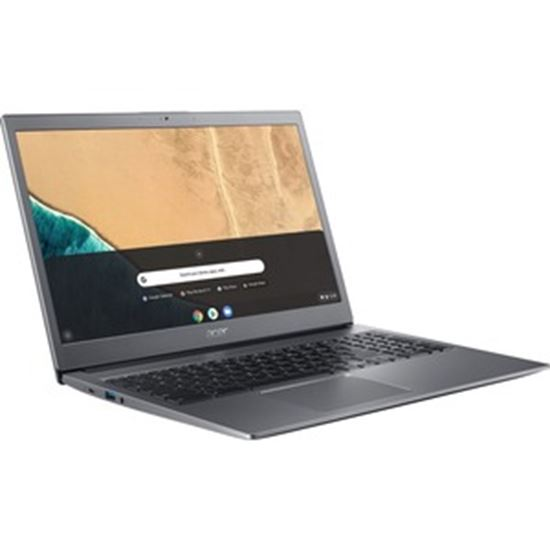 "Picture of Acer Chromebook 715 CB715-1W CB715-1W-33B9 15.6"" Chromebook - Full HD - 1920 x 1080 - Intel Core i3 (8th Gen) i3-8130U Dual-core (2 Core) 2.20 GHz - 8 GB RAM - 128 GB Flash Memory"