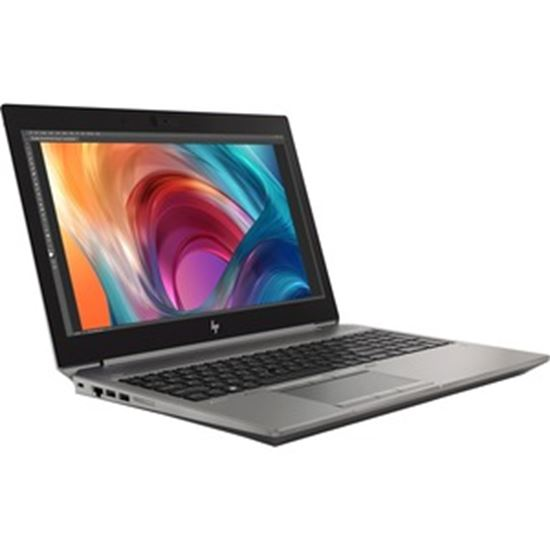 """Picture of HP ZBook 15 G6 15.6"""" Mobile Workstation - Intel Core i7 (9th Gen) i7-9850H Hexa-core (6 Core) 2.60 GHz - 16 GB RAM - 512 GB SSD - Refurbished"""