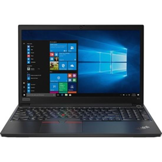 "Picture of Lenovo ThinkPad E15 20RD002XUS 15.6"" Notebook - 1920 x 1080 - Intel Core i3 (10th Gen) i3-10110U Dual-core (2 Core) 2.10 GHz - 8 GB RAM - 1 TB HDD - Glossy Black"