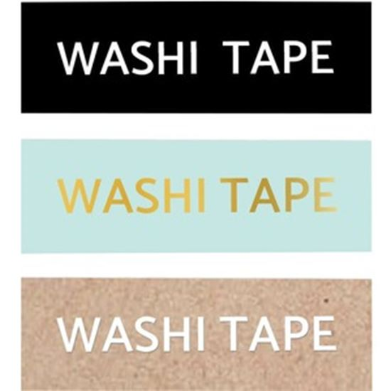 Picture of Brother P-touch Embellish Washi Tape - 3 Pack Neutral