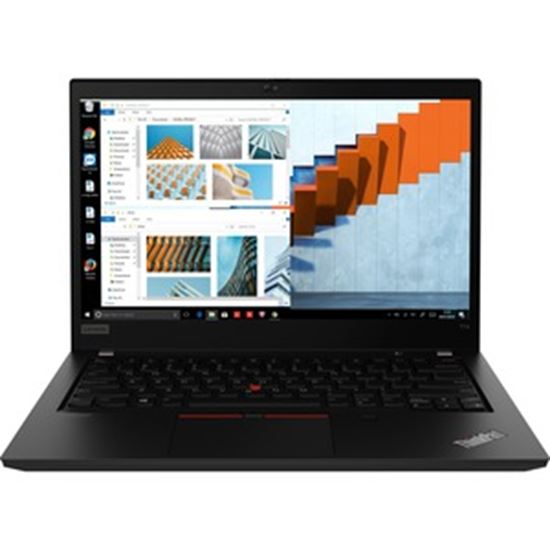 """Picture of Lenovo ThinkPad T14 Gen 1 20S0002HUS 14"""" Notebook - Full HD - 1920 x 1080 - Intel Core i7 (10th Gen) i7-10610U 1.80 GHz - 16 GB RAM - 256 GB SSD"""