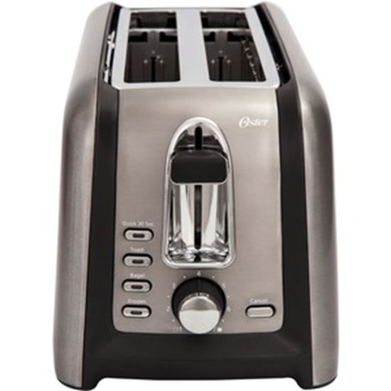 Picture of Oster Black Stainless Collection 4-Slice Long Slot Toaster