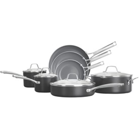Picture of Calphalon Classic Oil-Infused Ceramic 11-Piece Cookware Set