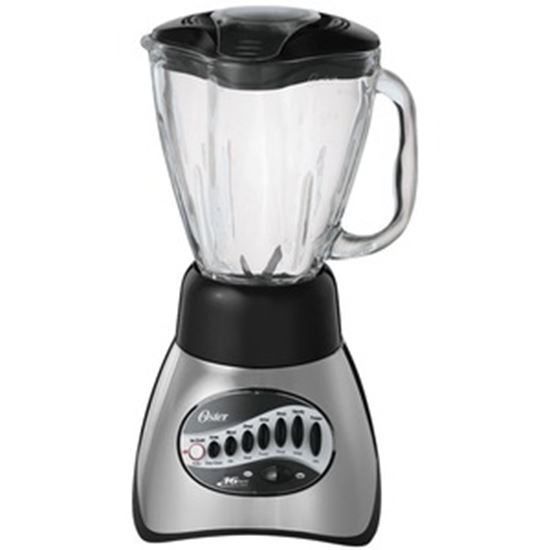 Picture of Oster Classic Series 16 Speed Blender with 5-Cup Glass Jar, Brushed Nickel