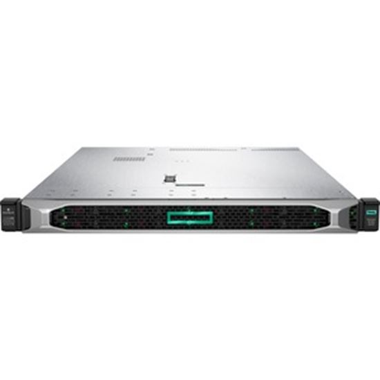 Picture of HPE ProLiant DL360 G10 1U Rack Server - 1 x Intel Xeon Gold 6242 2.80 GHz - 32 GB RAM HDD SSD - Serial ATA, 12Gb/s SAS Controller