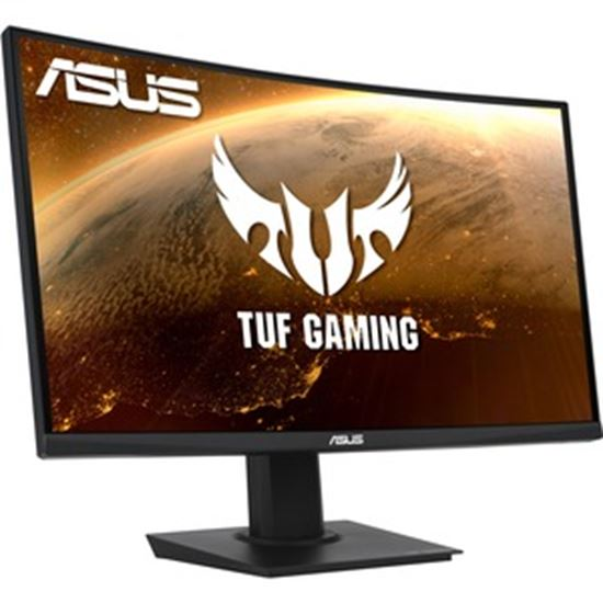 "Picture of TUF VG24VQE 23.6"" Full HD Curved Screen WLED Gaming LCD Monitor - 16:9 - Black"