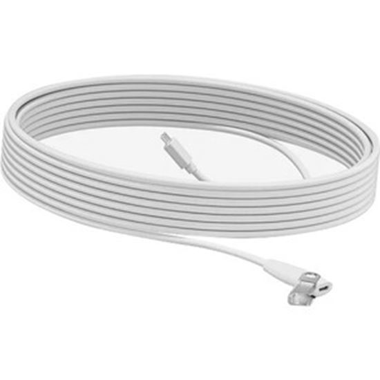 Picture of Logitech Rally Mic Pod Extension Cable 10 meter Extension Cable