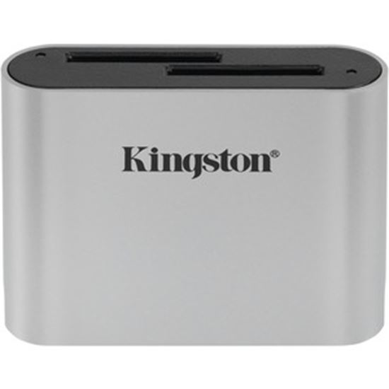 Picture of Kingston USB3.2 Gen1 Workflow Dual-Slot SDHC/SDXC UHS-II Card Reader