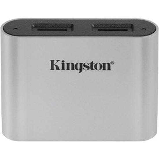 Picture of Kingston USB3.2 Gen1 Workflow Dual-Slot microSDHC/SDXC UHS-II Card Reader