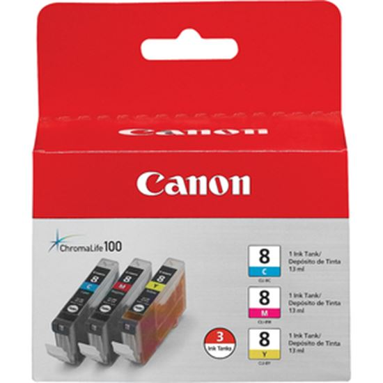 Picture of Canon CLI-8 Tri Color Ink Cartridges