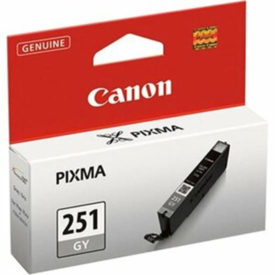 Picture of Canon CLI-251 GY Original Ink Cartridge - Gray