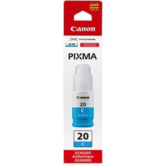 Picture of Canon GI-20 Cyan Ink Bottle