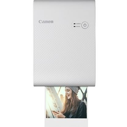 Picture of Canon SELPHY QX10 Dye Sublimation Printer - Color - Photo Print - Portable - White