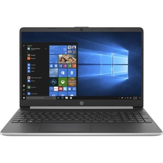 """Picture of HP 15t-dy100 15.6"""" Notebook - HD - 1366 x 768 - Intel Core i5 (10th Gen) i5-1035G1 Quad-core (4 Core) 1 GHz - 12 GB RAM - 256 GB SSD - Natural Silver - Refurbished"""