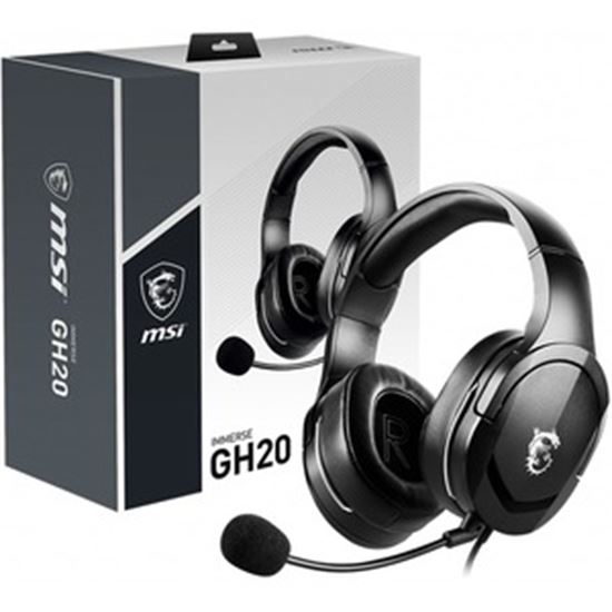 Picture of MSI Immerse GH20 Gaming Headset with Microphone