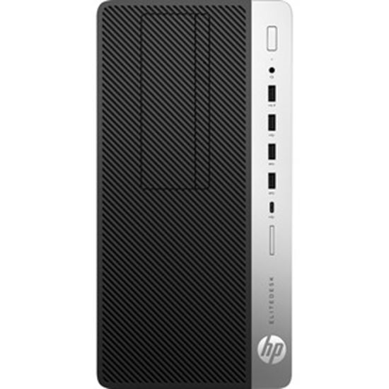 Picture of HP EliteDesk 705 G4 Desktop Computer - AMD A-Series PRO A6-9500 Dual-core (2 Core) 3.50 GHz - 4 GB RAM DDR4 SDRAM - Micro Tower