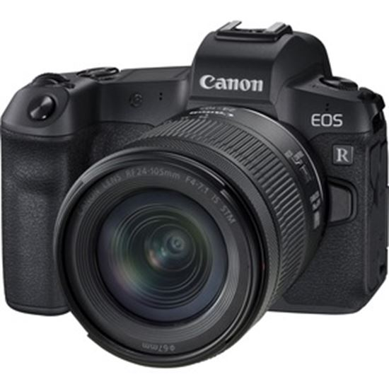 Picture of Canon EOS R 30.3 Megapixel Mirrorless Camera with Lens - 24 mm - 105 mm - Black