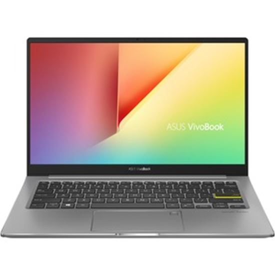 "Picture of Asus VivoBook S13 S333 S333EA-DH51 13.3"" Notebook - Full HD - 1920 x 1080 - Intel Core i5 (11th Gen) i5-1135G7 Quad-core (4 Core) 2.40 GHz - 8 GB RAM - 512 GB SSD - Indie Black, Gun Gray"