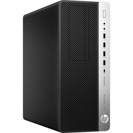 Picture of HP EliteDesk 800 G5 Desktop Computer - Intel Core i5 9th Gen i5-9500 Hexa-core (6 Core) 3 GHz - 16 GB RAM DDR4 SDRAM - 512 GB M.2 PCI Express NVMe SSD - Tower