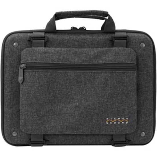 """Picture of Higher Ground Shuttle 3.0 Carrying Case for 15"""" Notebook, Chromebook - Gray"""