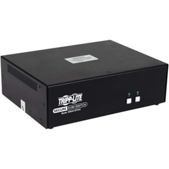 Picture of Tripp Lite B002A-DP2A2 2-Port NIAP PP3.0-Certified DisplayPort KVM Switch