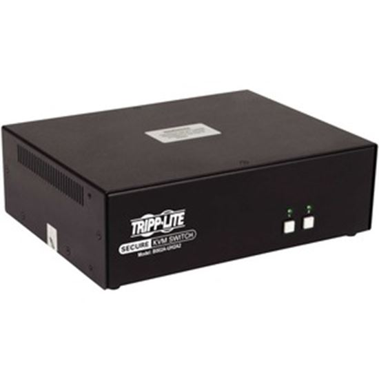 Picture of Tripp Lite 2-Port Dual-Monitor Secure KVM Switch, HDMI - 4K, NIAP PP3.0, Audio, TAA