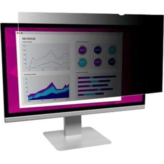 """Picture of 3M High Clarity Privacy Filter 19"""" Widescreen Monitor (HC190C4B) Black, Glossy"""