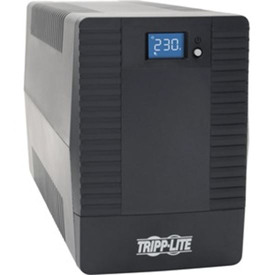 Picture of Tripp Lite 1000VA 600W UPS Battery Back Up Tower AVR 8 C13 230V USB LCD