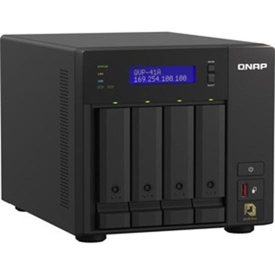 Picture of QNAP 4-Bay High-Performance NVR for SMBs, SOHO, and Home