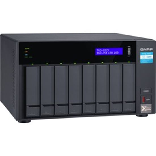 Picture of QNAP TVS-872X-I3-8G SAN/NAS Storage System