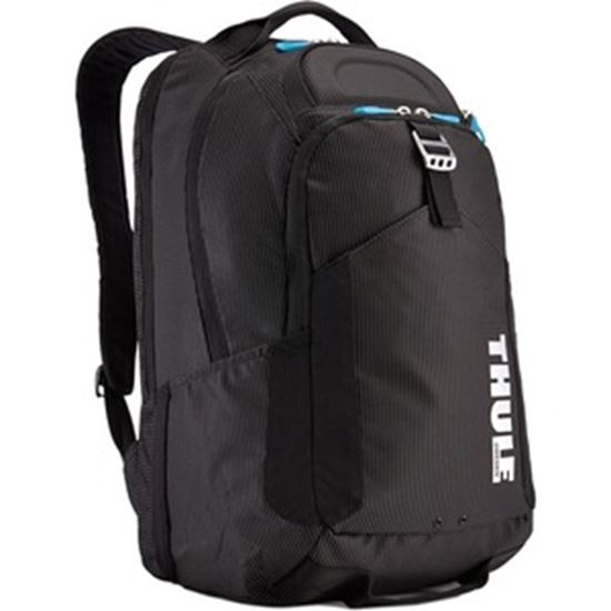Picture of Thule Crossover Carrying Case (Backpack) Apple MacBook Pro, Tablet, Sunglasses, Gear, Cellular Phone, Cord, Accessories - Black